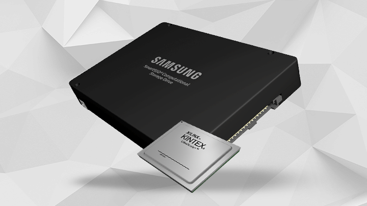 Xilinx and Samsung Deliver Industry's First Adaptable Computational Storage Drives