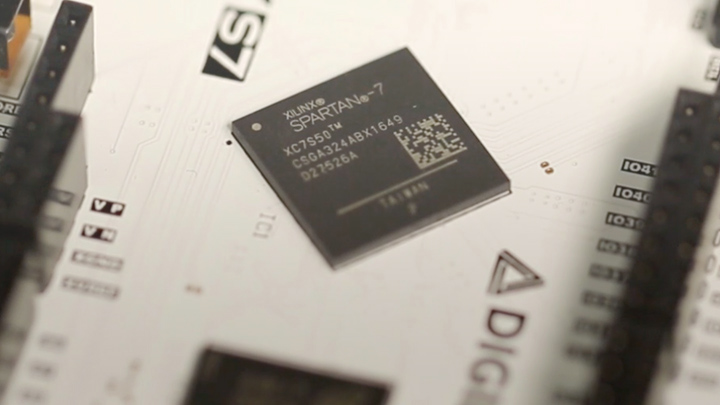 Xilinx Spartan-7 FPGAs Now in Production
