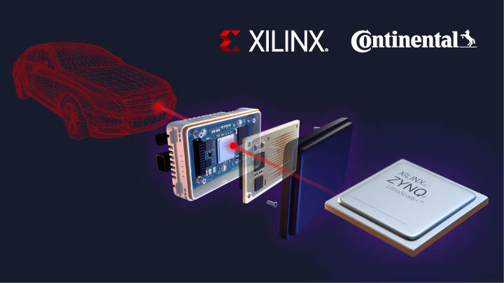 Xilinx and Continental Collaborate to Create Auto Industry's First Production-Ready 4D Imaging Radar for Autonomous Driving