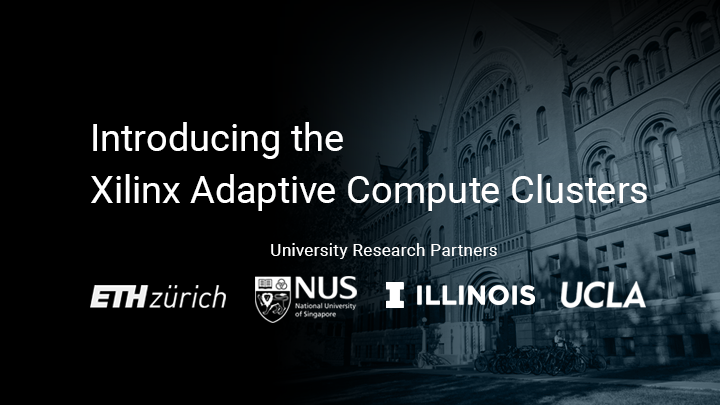 Xilinx Teams with Leading Universities Around the World to Establish Adaptive Compute Research Clusters